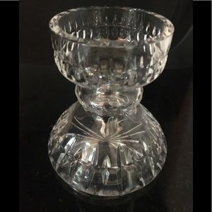 VINTAGE CUT Crystal Hyacinth Vase MINT